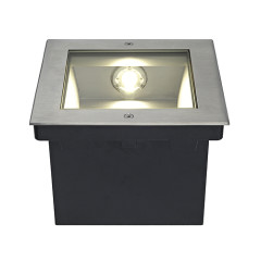SLV 229383 DASAR LED Square asymmetrically stainless steel 316 28W 3000K
