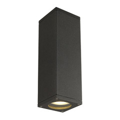 SLV 229535 THEO UPandDOWN OUT wall lamp Square anthracite GU10