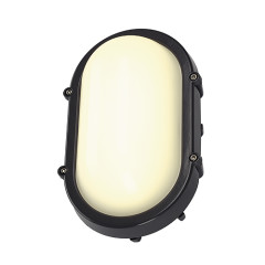 SLV 229925 TERANG wall and ceiling luminaire oval anthracite 8W LED 3000K