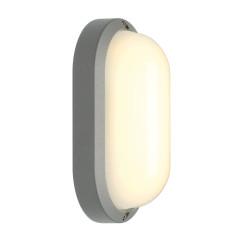 SLV 229934 oval Silver Grey 11W LED 3000K IP44