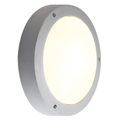 SLV 232424 DRAGAN SENSOR wall and ceiling luminaire Silver Grey E27