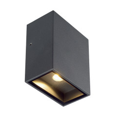 SLV 232435 Square anthracite 3.2W COB LED 3000K IP44