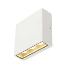 SLV 232451 BIG QUAD wall luminaire Square shape White 6x 1W LED Warm White