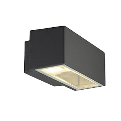SLV 232485 BOX R7S wall lamp Square anthracite R7s
