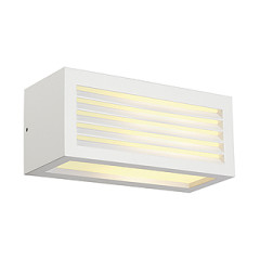 SLV 232491 BOX-L E27 wall lamp Square White E27