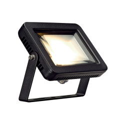 SLV 232800 Square Black 8.3W COB LED 3000K IP55