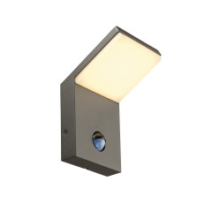 SLV 232915 anthracite SMD LED 3000K IP44 with motion sensor
