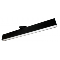 30W LED Track Mounted Linear 3000K Black