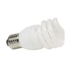 E27 energy-saving Lamp, 15W, spiral shape, 2700K