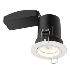 Fire Rated Downlight Matt White Shield Plus 61059 Saxby (Limited Stock)