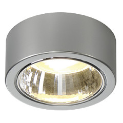 SLV 112284 Ceiling lamp CL 101 Requires GX53 LED lamp, Silver 11W