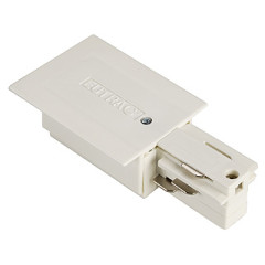 SLV 1001533 EUTRAC feed-in for 3 Circuit Recessed track White