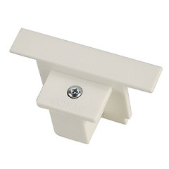 SLV 1001538 EUTRAC end angle for 3-phase Recessed track White