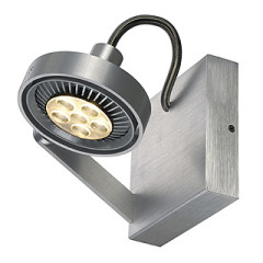 SLV 147706 KALU II ES111 Single surface wall lighting aluminium