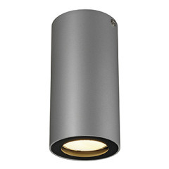 SLV 151814 ENOLA_B ceiling luminaire CL-1 Silver Grey and Black GU10