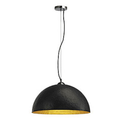 SLV 155530 FORCHINI pendulum lamp PD-1 Black and Gold E27