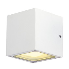 SLV 232531 SITRA CUBE wall lamp cube formed White GX53