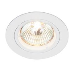 MLS DL491N Twist Lock GU10 Fixed Downlight White LED or halogen options
