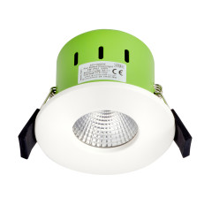 Greenbrook ADV3000W 9W IP65 LED Dimmable Fire Rated White Fixed Warm White