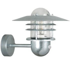 Nordlux 74501031 Galvanised Wall Light with Built in Sensor