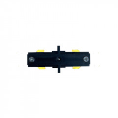 Straight Connector Black