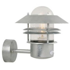 Nordlux 25031031 Galvanised Wall Light with Sensor