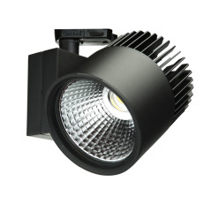 Concentra Multi Circuit LED Track Spot Black up to 6000lm output available