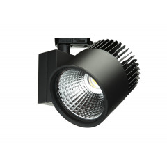 Concentra Dali Multi Circuit LED Track Spot Black up to 4500lm output available