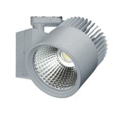 Concentra Multi Circuit LED Track Spot Silver Grey up to 6000lm output available