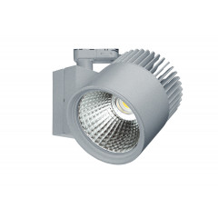 Concentra Dali Multi Circuit LED Track Spot Silver up to 4500lm output available