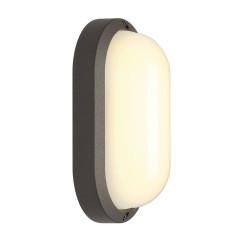SLV 229935 oval anthracite 11W LED 3000K IP44