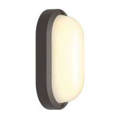 SLV 229945 oval anthracite 22W LED 3000K IP44