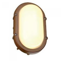 SLV 229927 oval rust 8W LED 3000K IP44