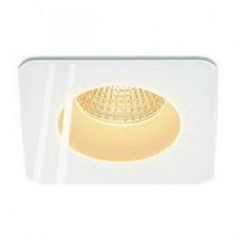 SLV 114451 Patta-I Square IP65 Matt White 12W 3000K Dimmable Driver Incl
