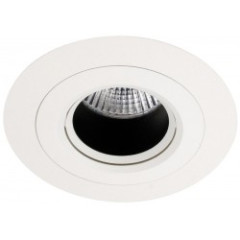 MLS MT501 Recessed Downlight, Baffle to reduce glare, Requires GU10 LED