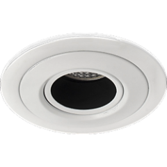 MLS FRMT501 Fire Rated Down Light Anti Glare Baffle, Requires GU10 LED