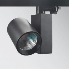 32W 2550lm 3000K LED Track Spot Black CRI90