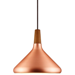 Nordlux Copper27 Brushed Copper 27 Pendant