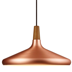 Nordlux Copper39 Brushed Copper Pendant E27