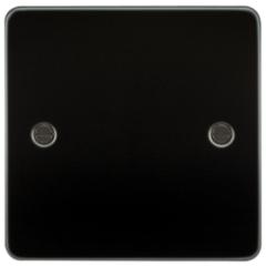 MLS MG0538PF Flat Plate 1G Blanking Plate Gunmetal