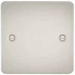 MLS LP0538PF Flat Plate 1G Blanking Plate Pearl