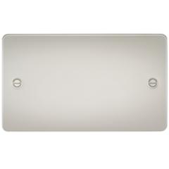 MLS LP0638PF Flat Plate 2G Blanking Plate Pearl