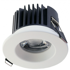 DALI Dimmable 13W LED Fire Rated Downlight White Bezel 3000K/4000K/5000K Switchable