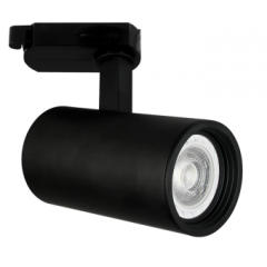 Shooter GU10 Track Spot Black Dimmable requires a GU10 LED