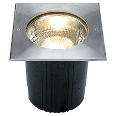 SLV 229204 Dasar 215 Ground fitted lamp E27 Square
