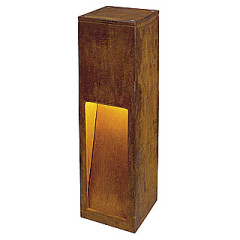 SLV 229410 Rusty Slot 50 surface floor lighting cor-ten cast steel rusted