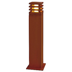 Rusty 70 square Outdoor Lamp of iron