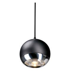 SLV 185590 Light Eye pendulum lamp ES111 Chrome and Black