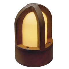 SLV 229430 Rusty Cone surface floor lighting cor-ten cast steel rusted