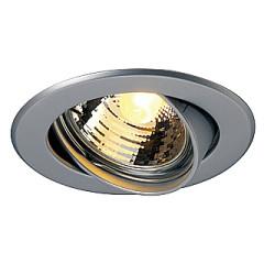 SLV 116119 Recessed Ceiling Mounting Aluminium GU10